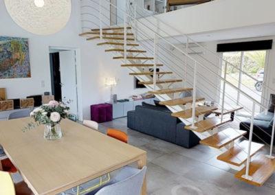 Maison à Arcangues sur 2 niveaux– visite virtuelle